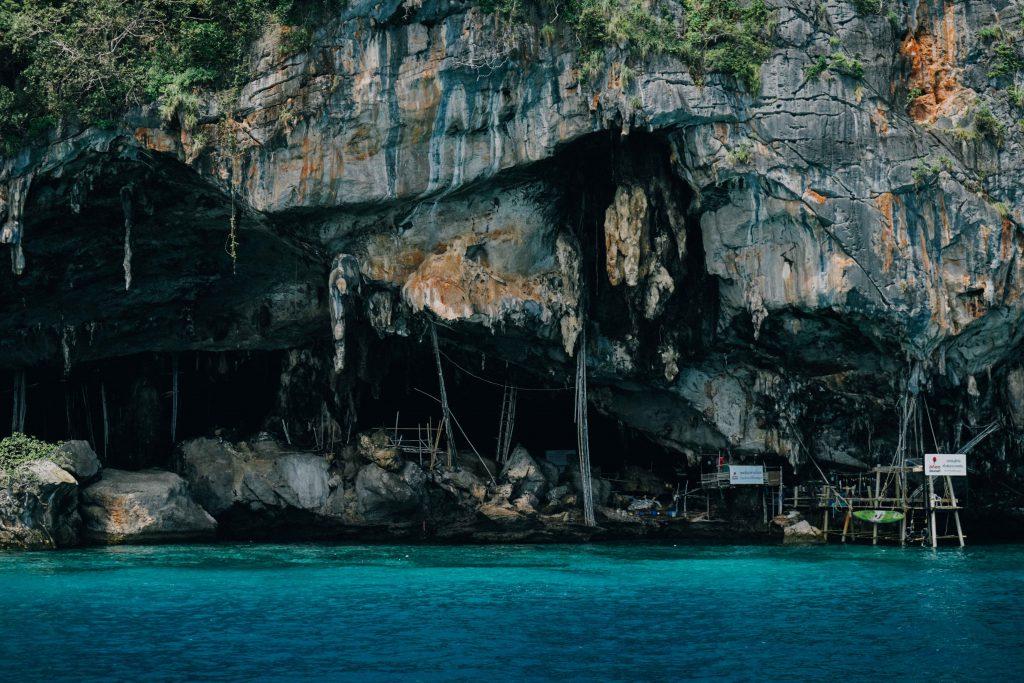Pileh Bay and Viking Cave